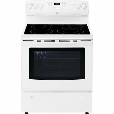 KENMORE 30″ 5.4 CU. FT. ELECTRIC RANGE- WHITE