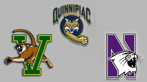 Quinnipiac, Northwestern and Vermont Set to Charter This Spring