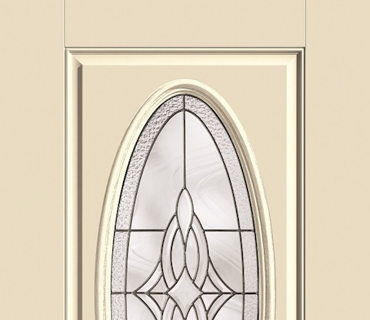THERMA TRU DECORATIVE OVAL EXTERIOR DOOR
