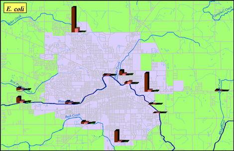 BWQ Ecoli Map image