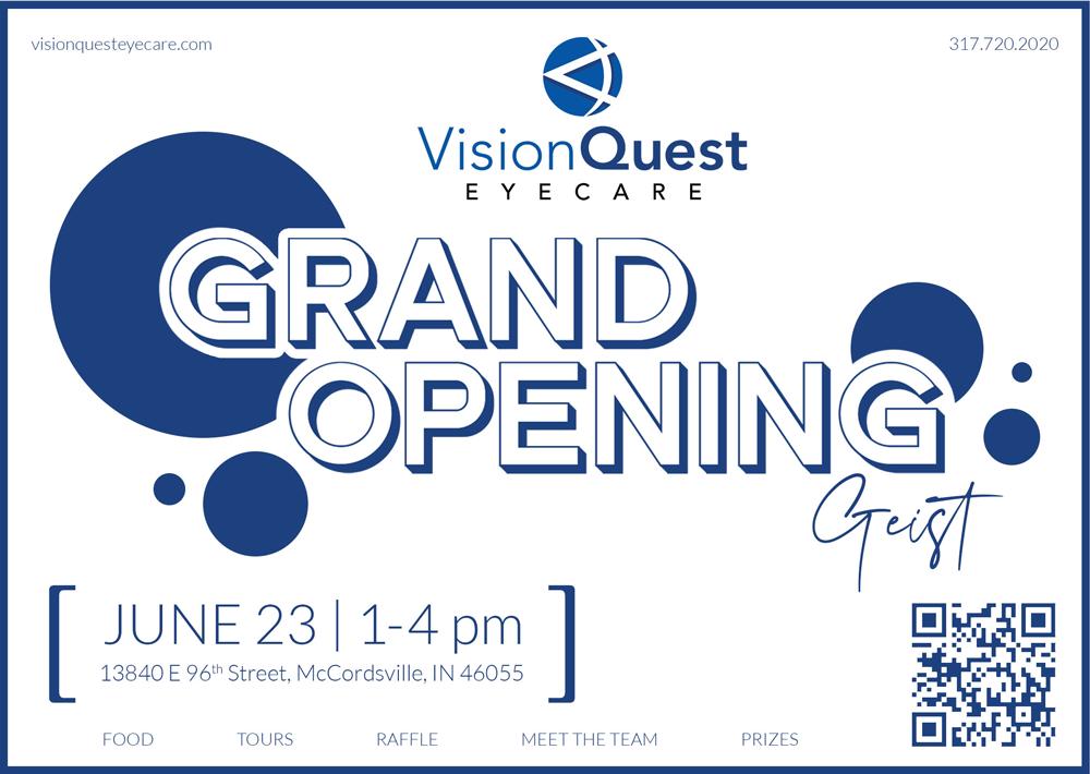 VisionQuest Eyecare Greenwood Indianapolis Geist