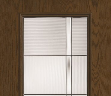 THERMA TRU DECORATIVE FULL AXIS WOOD GRAIN DOOR