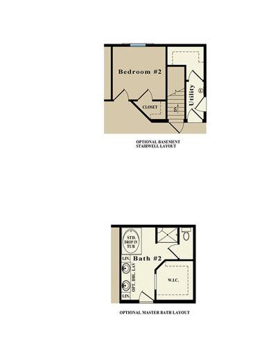 Second Floor Blueprint for Adelyn