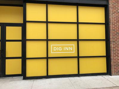 Dig Inn Window Barricade