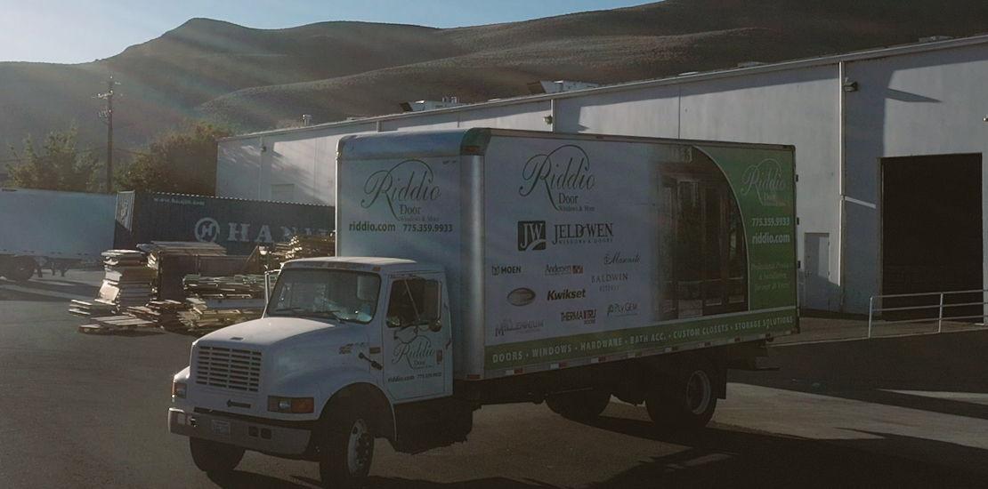 Riddio company truck