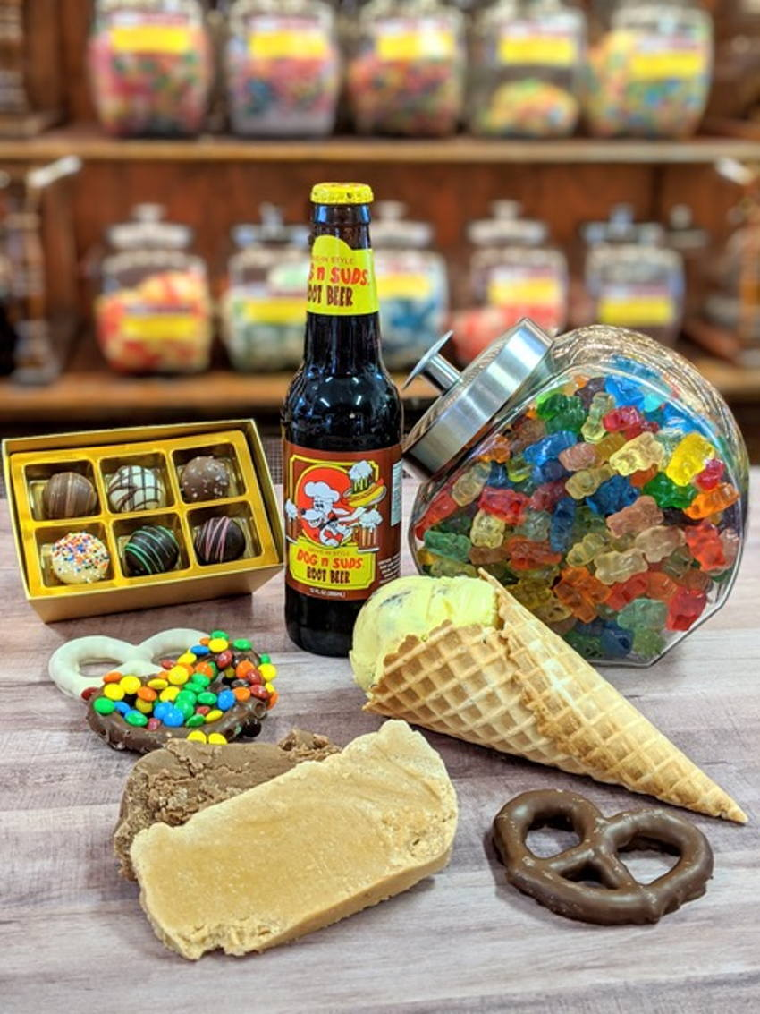 Hoosier Cupboard Candy, Snacks and Ice Cream