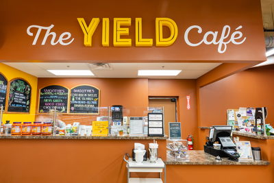 Fruitful Yield Cafe Department 3D Signage