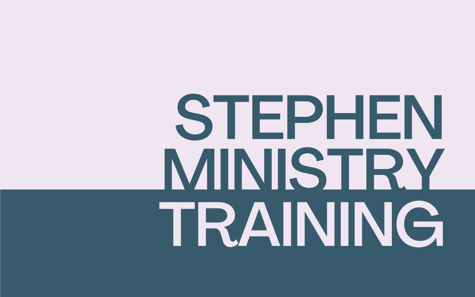 Image for Stephen Ministry Training