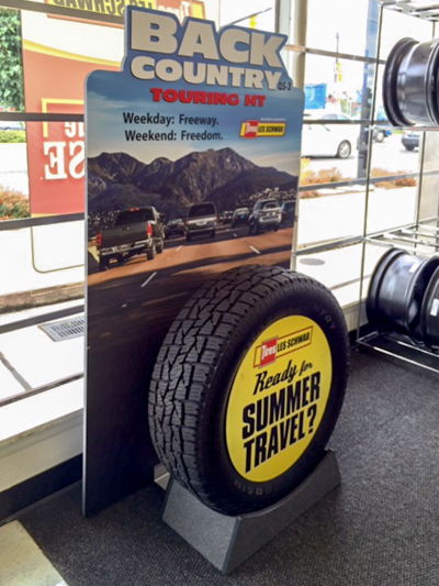 POP Tire Display