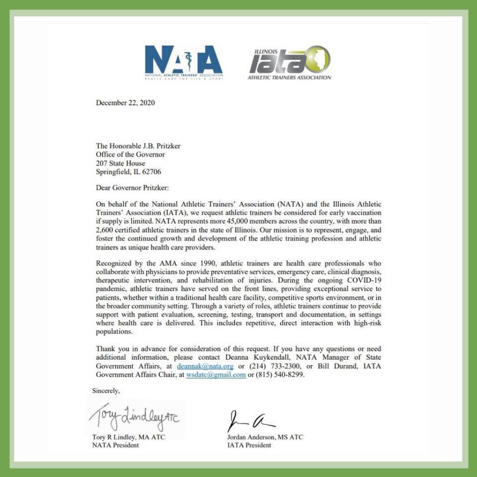 COVID19 advocacy letter from IATA&NATA